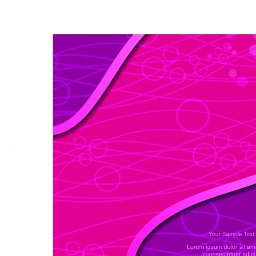 Цветные фоны волны часть 2 | Wavy multicolored vector backgrounds set 2