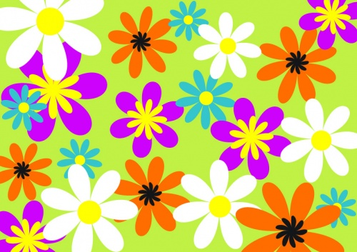 11 Floral Vector Patterns Collection