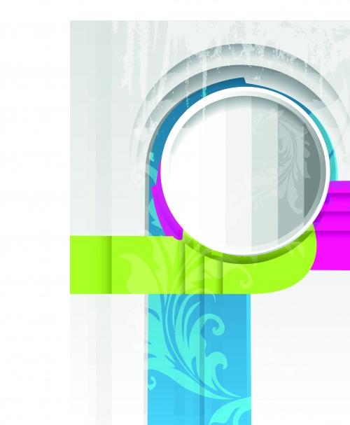Цветные фигуры на векторном фоне часть 9 | Colored shapes vector backgrounds set 9