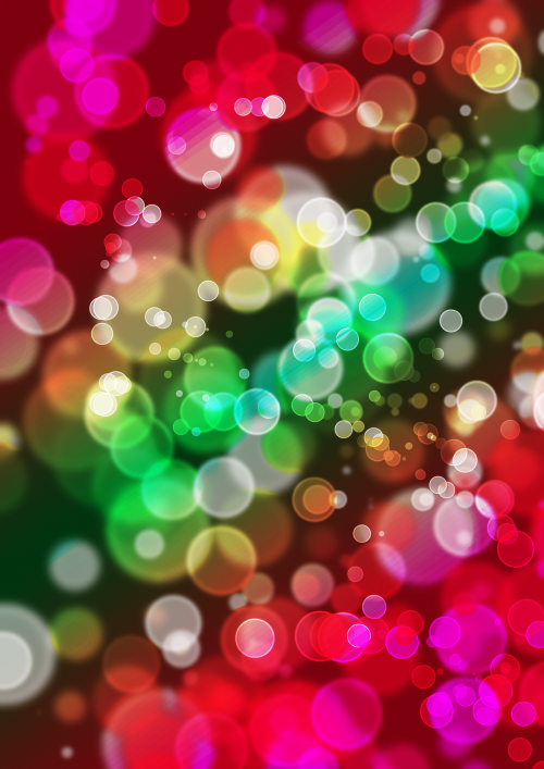 Bright backgrounds - Effect bokeh
