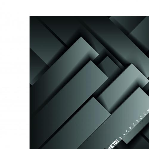 Геометрические фигуры тёмные фоны | Geometric shapes dark vector backgrounds