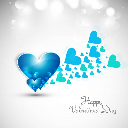 St. Valentine's Day & Hearts - Vector Set #4