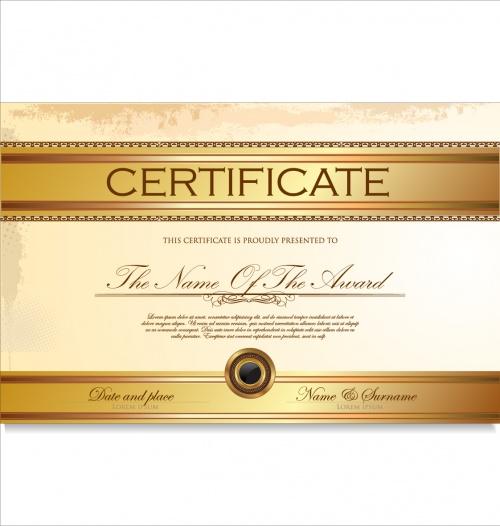 Certificate vector 7