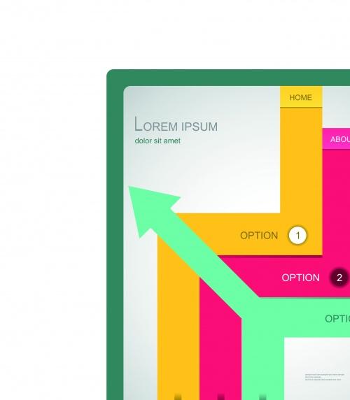 Бизнес брошюра дизайн обложка часть 23 | Business brochure covers design vector set 23