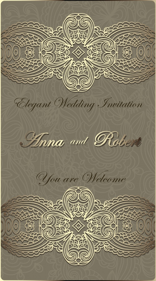 Wedding invitations 3