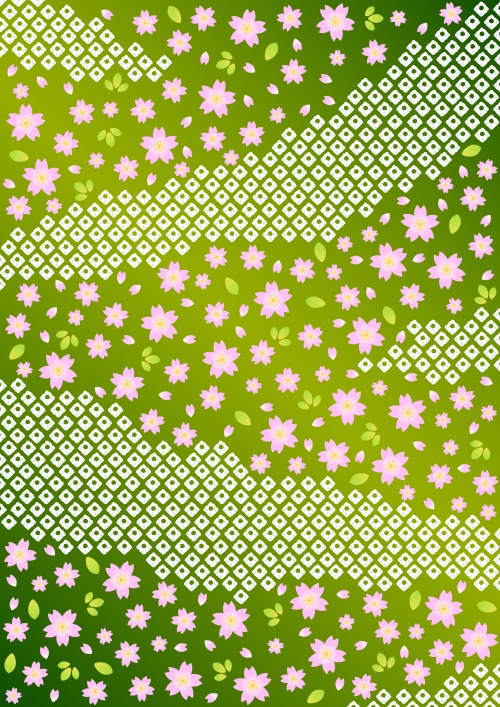 Stock: Pink floral background pattern