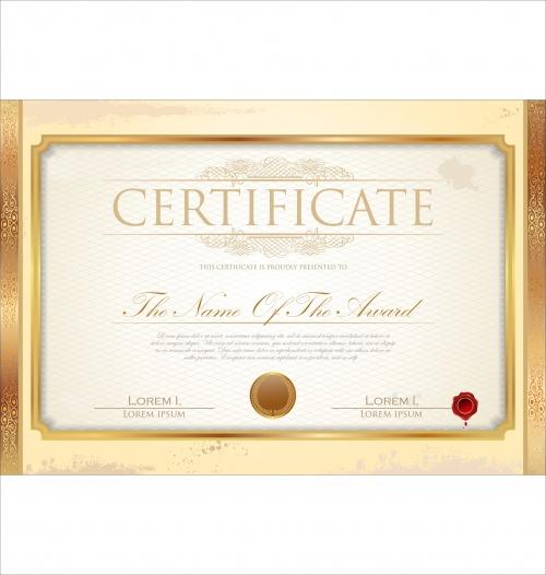Certificate vector 9