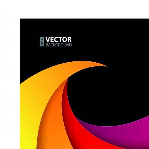 Геометрия цветные фигуры фон | Geometry colored shapes vector backgrounds