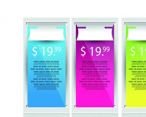 Баннеры для веб дизайна часть 7 | Web banner modern design set 7