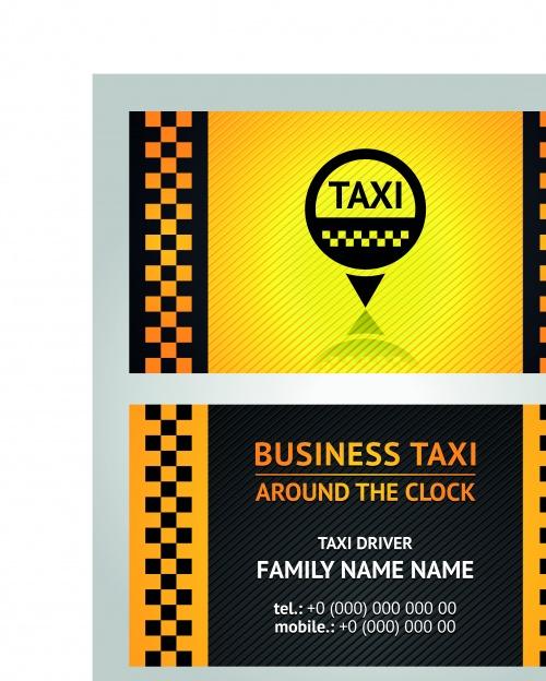 Бизнес карточки такси | Business card taxi driver