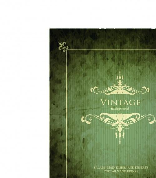 Элегантные винтажные фоны часть 2 | Elegant vintage vector backgrounds part 2