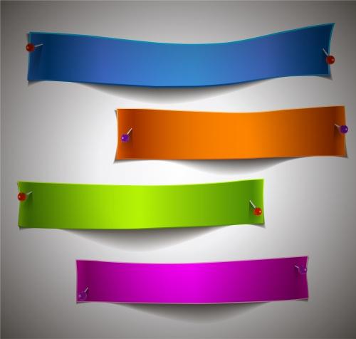 Banner Vector Set #9