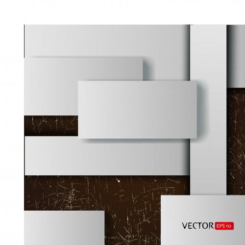 Геометрические фигуры на векторном фоне | Geometric shapes abstract background vector