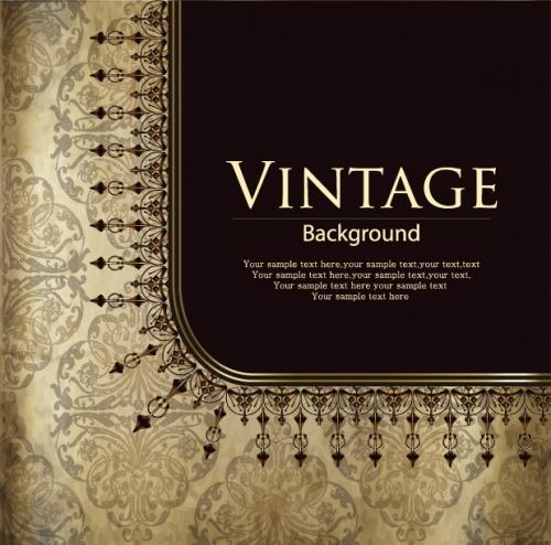 Vintage invitation 12