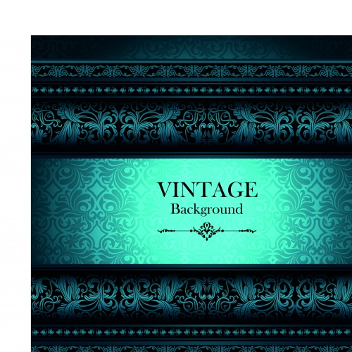 Elegant vintage vector backgrounds part 3