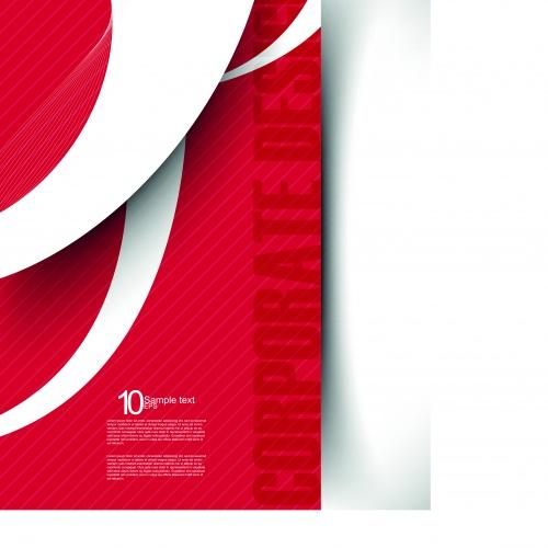 Корпоративные фоны часть 4 | Corporate background vector set 4
