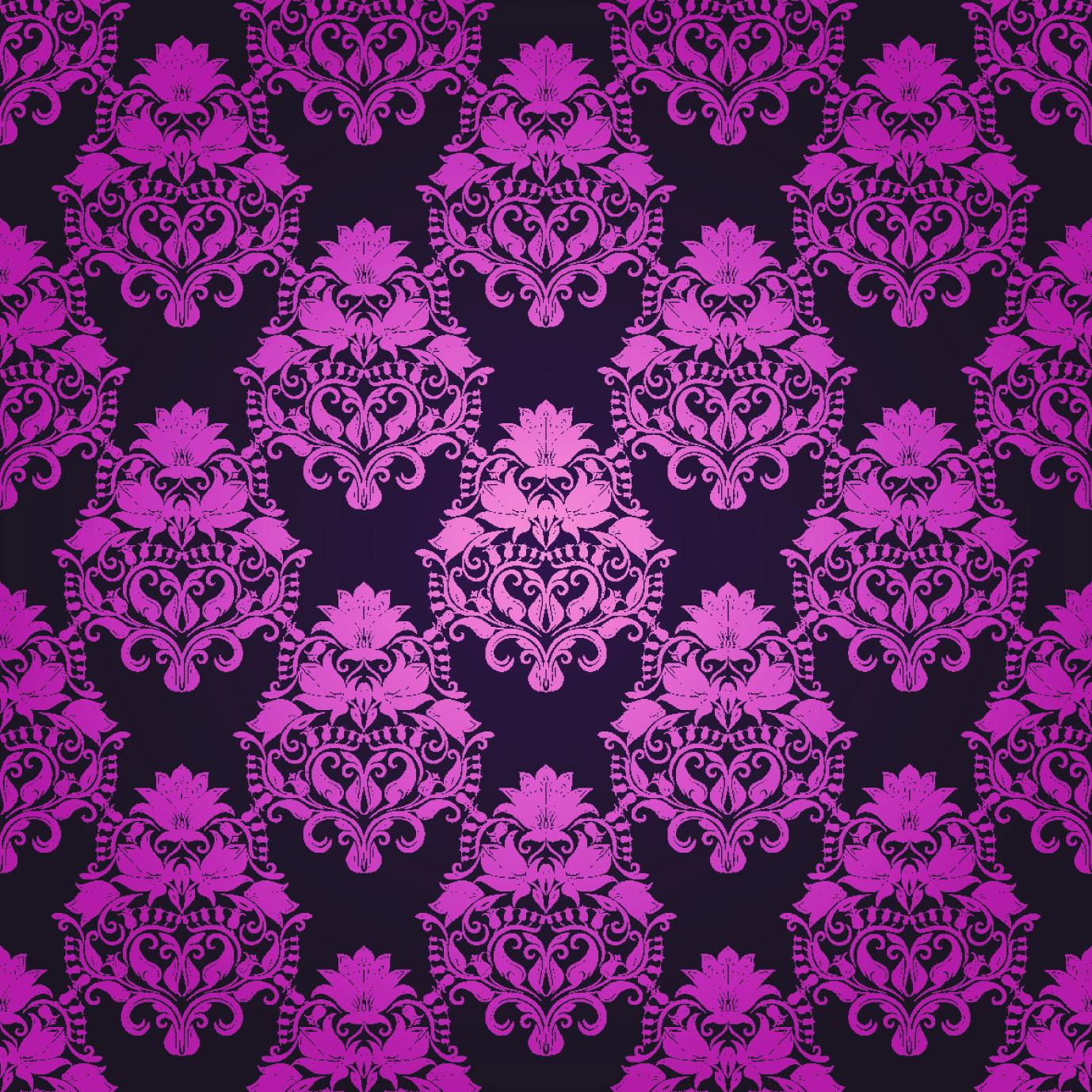 Purple floral lace background