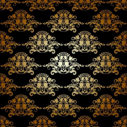 Jentle Floral Backgrounds Vector