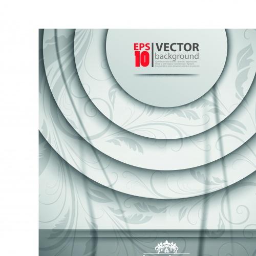 3D объекты на векторном фоне часть 12 | 3D objects background vector set 12