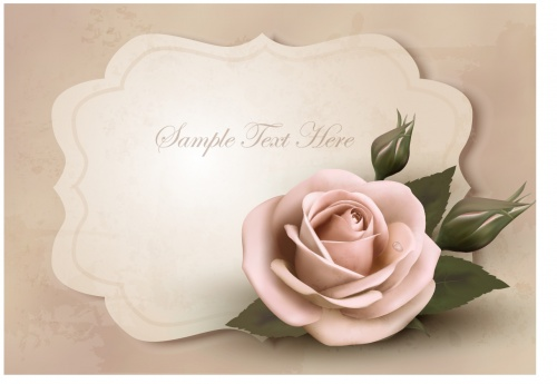 Rose invitations