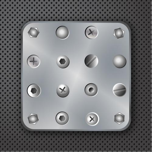 Фон с винтами | Background with screws