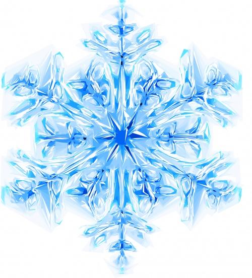 Снежные фоны #2 - Векторный клипарт