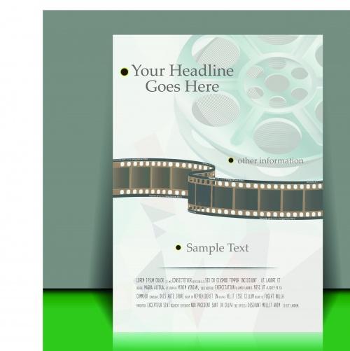 Современный дизайн брошюра часть 25 | Modern brochure design vector set 25