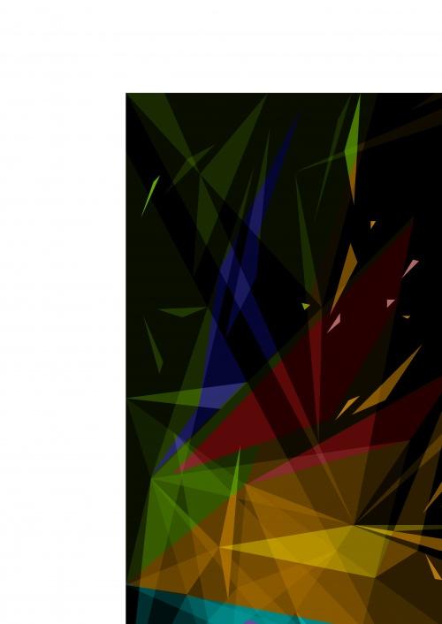 Абстрактные цветное на тёмном фоне | Abstract color dark vector background