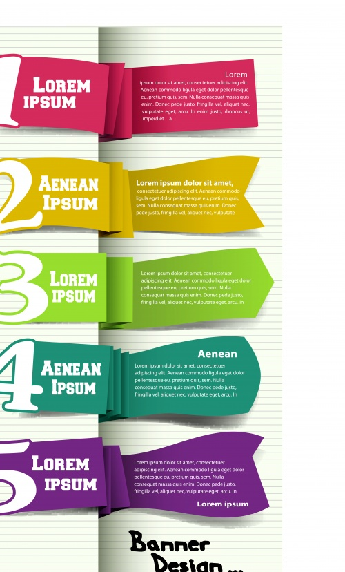 Современные баннеры оригинальный дизайн часть 7 | Modern original design web banners vector set 7