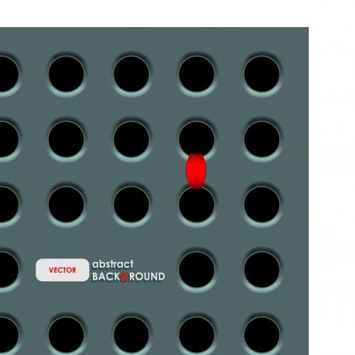 Отверстие фоны | Hole vector background