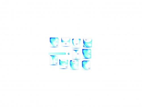 Голубой водоворот фоны | Blue swirl vector background