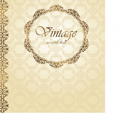 Elegant greeting card