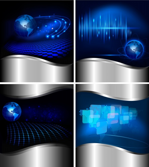 Stock: Abstract technology background. Vector illustration