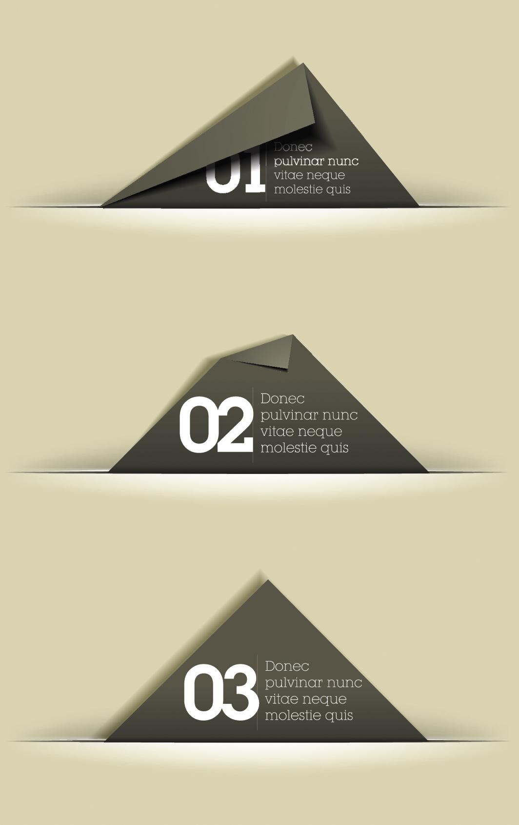 Simple Paper Cards Design Vector » Векторные клипарты ...