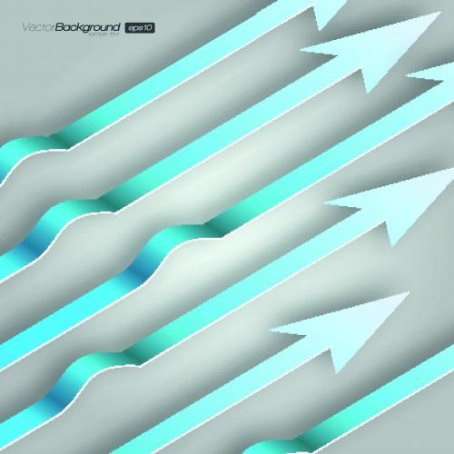 Абстрактные полосы фоны | Abstract Bright Lines Vector Background
