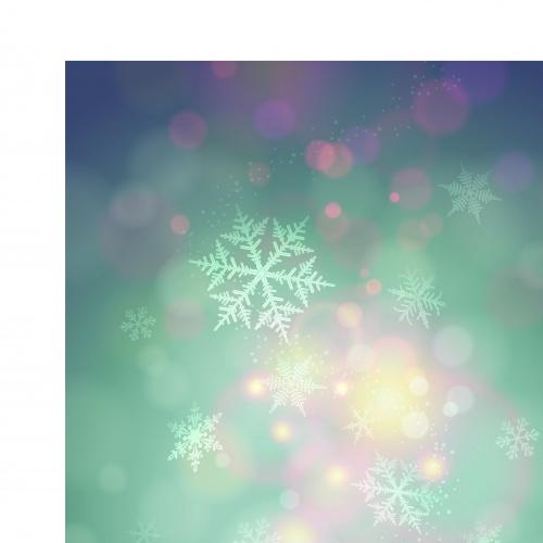Абстрактные зимние фоны | Vector winter abstract backgrounds