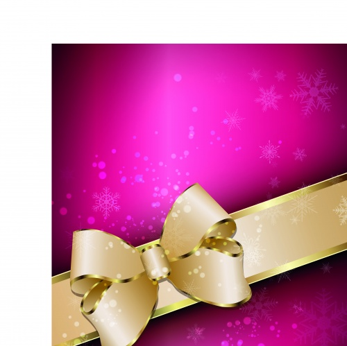 Праздничные фоны с лентой часть 4 | Holiday vector backgrounds with ribbon set 4