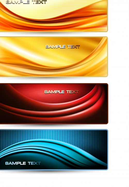 Elegant abstract backgrounds and banners