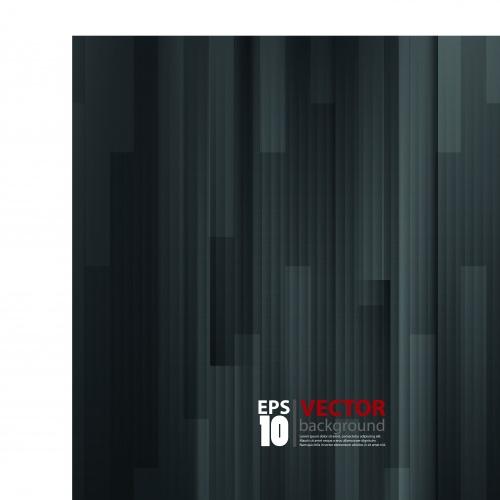 Чёрные и белые абстрактные фоны | Black and white abstract vector backgrounds
