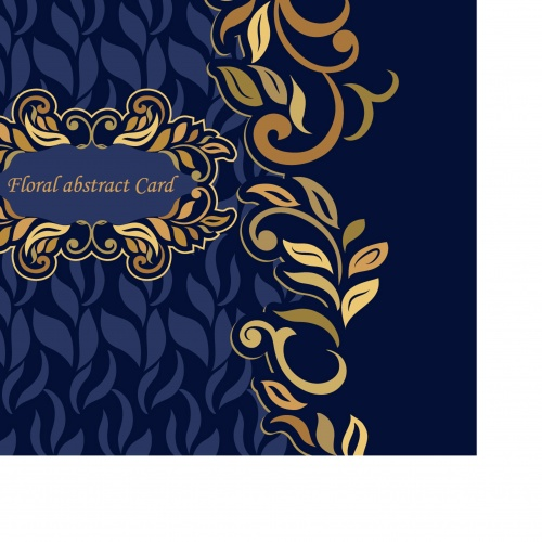 luxurious invitation card