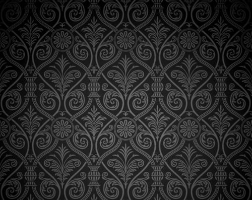 Background of ornate classical European pattern vector | Классические фоны и текстуры - вектор
