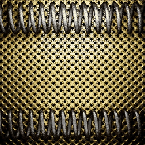Grunge Metal Backgrounds Vector