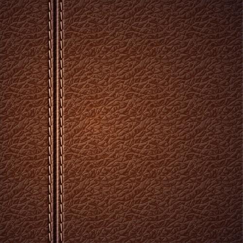 Кожаные фоны, застежки - Векторный клипарт | Vector Leather and buckles backgrounds