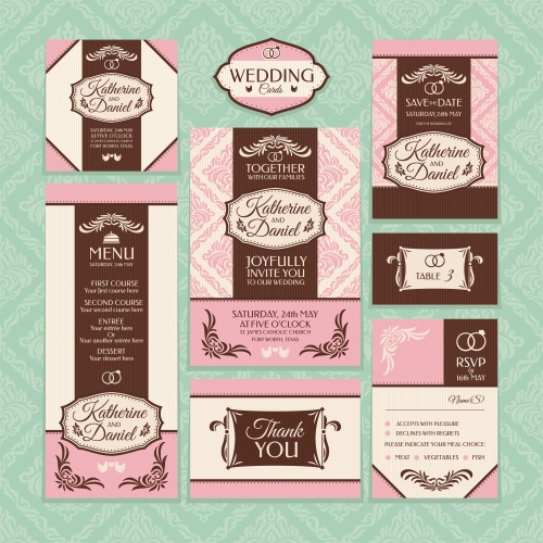 Wedding invitations 5