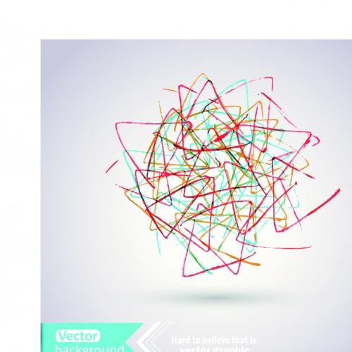 Рисунки абстракция фоны | Drawing hands abstract vector background