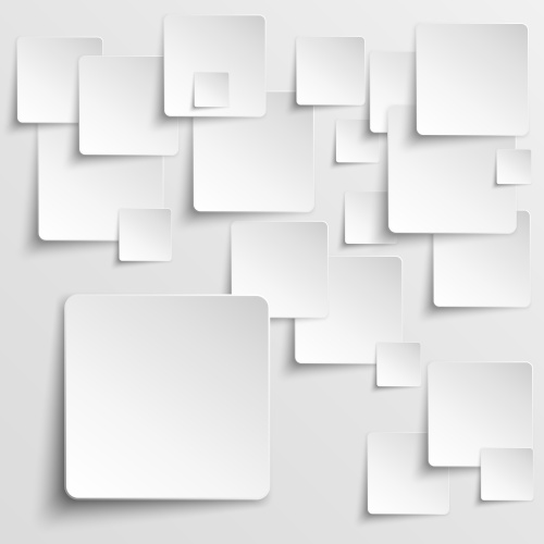 Stock: White tiles abstract vector background