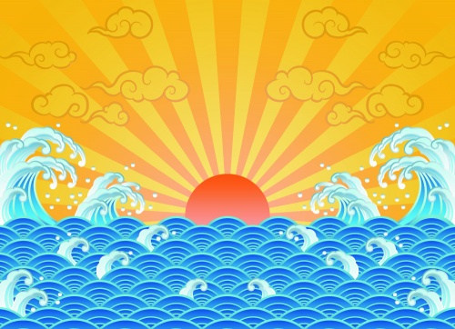 Vector Backgrounds - Sunny Summer Days