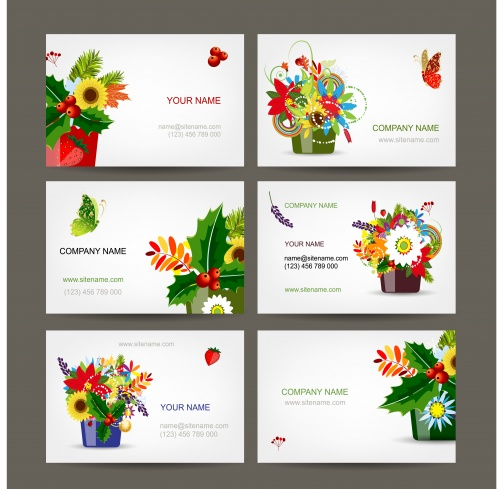 Floral cards 20