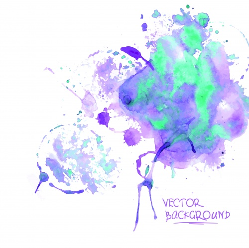 Акварель фоны 3 | Watercolor vector background 3