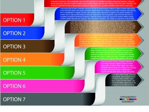 Инфографики креативный дизайн часть 105 | Infographic creative design vector set 105